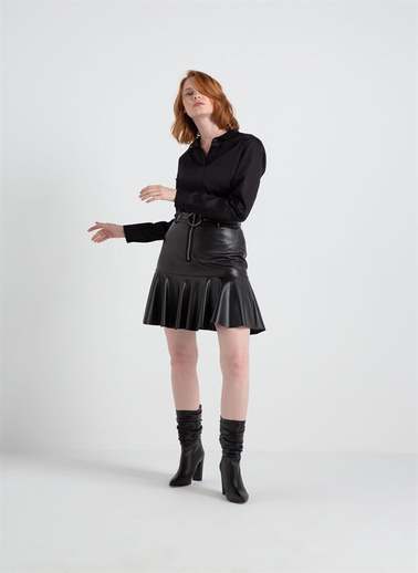 Rue Slim Fit Gömlek Siyah